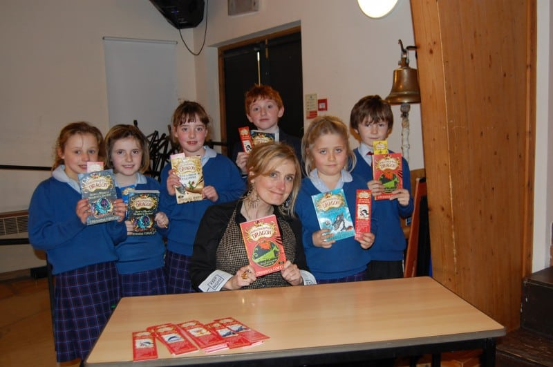 Cressida Cowell with p...