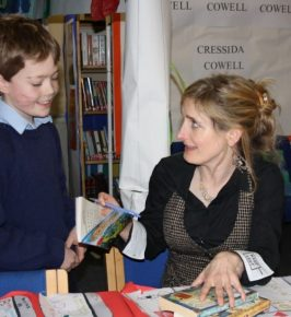 Cressida visiting Farleigh School