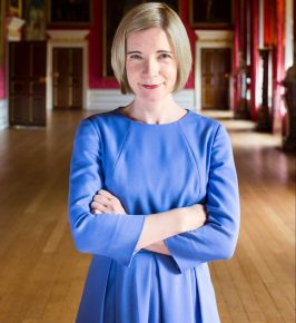 Lucy Worsley (credit Historic Royal Palaces, Bloomsbury, Ben Turner)